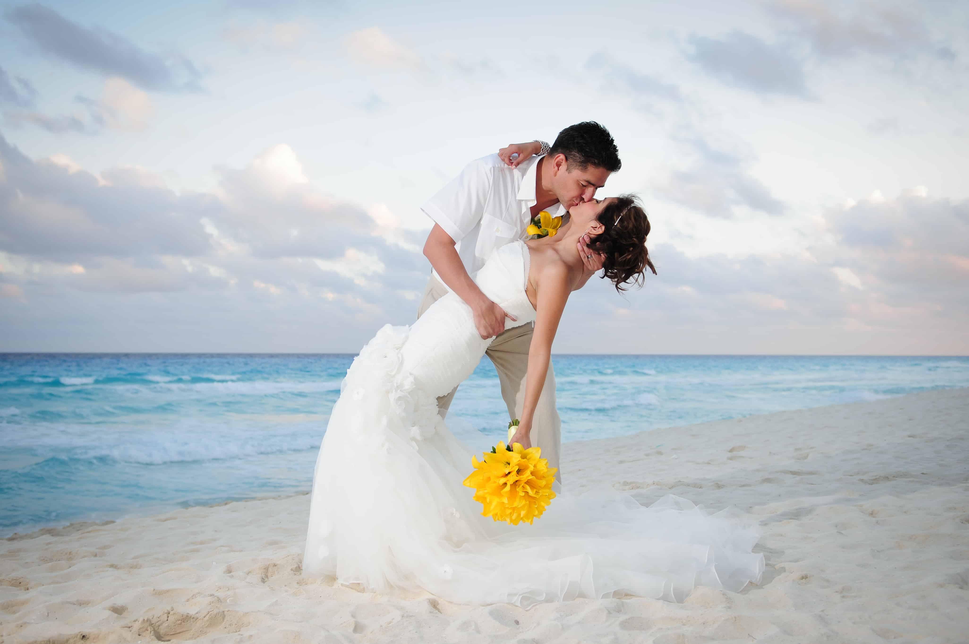 Beach palace cancun wedding photos Barcel Maya Palace Resorts in Mexico m