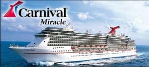 Carnival Miracle Ship Image