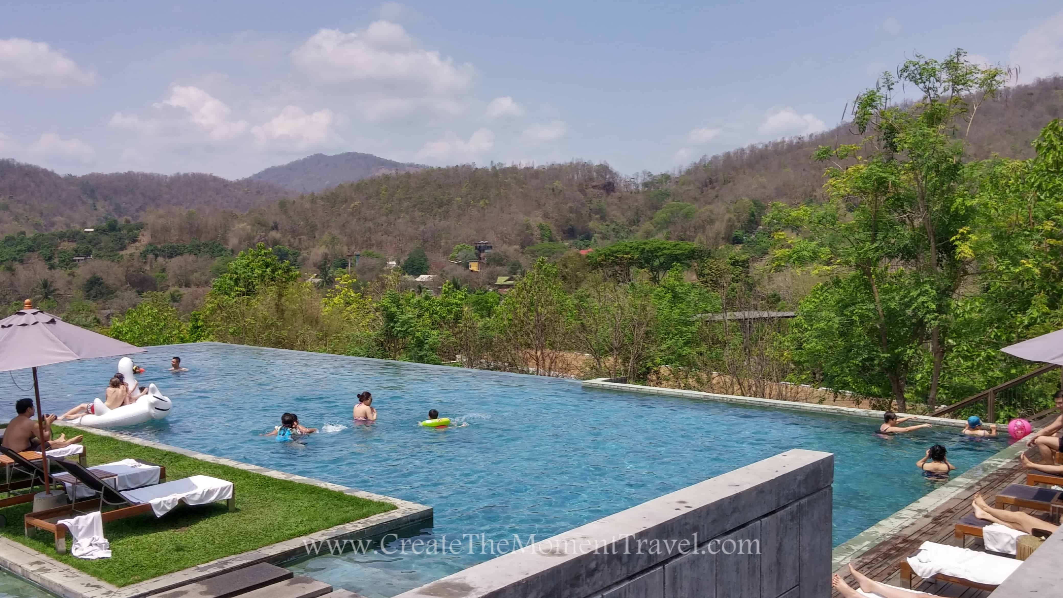Infinity Pool at Resort in Northern Thailand by Create The Moment Travel